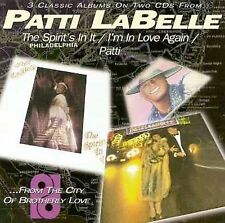 Labelle, Patti, Spirit's in It / I'm in Love Again / Patti, New Import