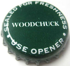 WOODCHUCK CIDER, Sealed For Freshness CROWN Bottle Cap VERMONT Green Mountain