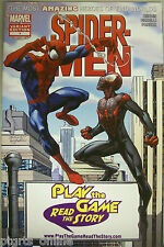 Spider-Men #1 Retailer Specific Variant PLAY THE GAME READ THE STORY Variant NM