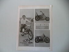 advertising Pubblicità 1973 MOTO MILANI CHOPPER 50