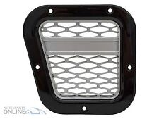 LAND ROVER DEFENDER - XS AIR INTAKE GRILLE BLACK WITH SILVER MESH (LH) - DA1972