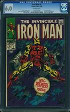 IRON MAN #1 CGC 6.0 FN - 1968, Origin Retold