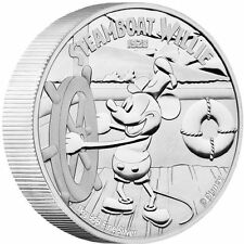 Disney - Mickey Mouse Steamboat Willie 2015 1 Kilo Silver Proof Coin