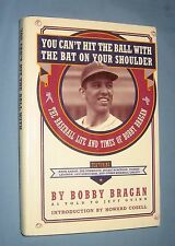 *  BOBBY BRAGAN  autobiography  *  signed first edition book