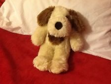 """COLLECTABLE 15"""" BEAR  FACTORY DOG SAYS I LOVE YOU"""