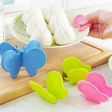 Adorable Anti-Scald Device Kitchen Silicone Tools Butterfly-Shaped Cute Gadget