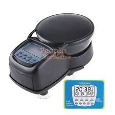 P4PM LCD Automatic Aquarium Timer Auto Fish Tank Pond Food Feeder Feeding Timer