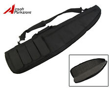 38'' Heavy Duty Tactical Airsoft Gun Rifle Shotgun Carry Case Shoulder Bag Black