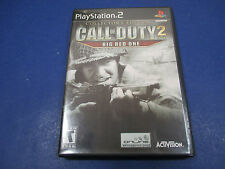 PlayStation 2, Call of Duty 2 Big Red One Rated T Teen