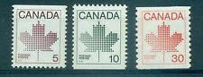 EMBLEMA, ACERO - MAPLE LEAF CANADA 1982 Common Stamps Coil