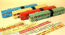 4 Wiking Gelenk-Busse  HO 1:87 #L118