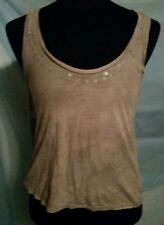American Eagle Outfitters women's (S)34 in. Chest Gray Sparkly Sequin tank top