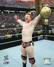 "SHEAMUS WWE PHOTO NEW STUDIO WRESTLING 8X10"" PROMO WRESTLEMANIA W/ WORLD BELT"