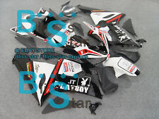 Black decals INJECTION Fairing Bodywork Plastic Fit Kawasaki ZX-6R 05-06 048 A2