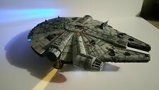 Professionally built 1/144 Lighted Bandai Millennium Falcon Star Wars the Force