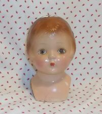 "14"" COMPOSITION  SALLY American Character doll HEAD & Plate Parts, fix & restore"