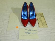 Dolly Reed Dick Martin Worn Pair of Fred Slatten Pumps w COA Personal Collection
