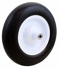 """(1)PC Tire Flat Free 5/8"""" Wheelbarrow Carts Wagon Barrow Ribbed Tread Tubeless"""