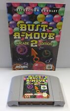 Gioco Game Console N64 NINTENDO 64 Play PAL EUR - BUST A MOVE 2 Arcade Edition -