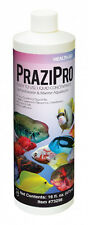AQUARIUM SOLUTIONS PRAZIPRO 4 OZ PARASITE TREATMENT ** FREE SHIPPING 400GAL