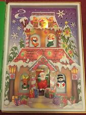 Jingle Bell Rock Singing Musical Christmas  Book Santa's Workshop 28.5cm