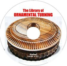 ORNAMENTAL TURNING Evans V1-3 Holtzapffel GEOMETRIC ECCENTRIC,PATTERNS,Lathe CD