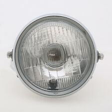 "6"" Round Racing Motorcycle Side Bulb Motorbike Crystal Headlight For Honda CG125"