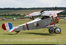 WWI  Nieuport 17  80 inch wing   1/4 Scale RC Model AIrplane PDF Plans  on a CD
