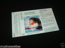 LARRY NORMAN UPON THIS ROCK NEW ZEALAND UNUSED INLAY CARD