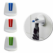 3x Rubber Grip Tea Towel Holder -SELF ADHESIVE- Kitchen/Bathroom Hand Towel Home