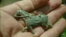 Very old lead toy horse