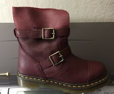 Dr. Marten's Kristy Leather Boots - Cherry 38/7