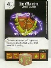 Yu-Gi-Oh Dice Masters - #035 Ring of Magnetism - Sidekick Attraction - Base Set