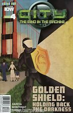 City: Mind in the Machine #4 Subscription Variant Comic Book 2014 - IDW