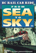 BC Rail Cab Ride: From Sea to Sky New DVD Pentrex Video