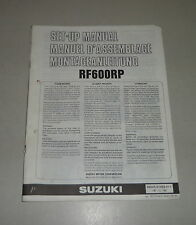 Montageanleitung / Set Up Manual Suzuki RF 600 R Stand 01/1993