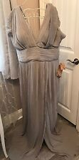 Light In The Box EveningGown Prom Formal Wedding Bridesmaid Dress 20W Silver Nwt