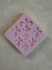Fleur de Lis Silicone Mold for Cake Decorating, Fondant, Gum Paste