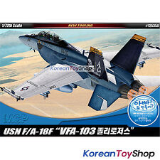 Academy 12535 1/72 Plastic Model Kit F/A-18F Jolly Rogers Multi Color Parts