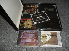 METALLICA -BLACK BOX SET- MASSIVE 5 CD SINGLE BOX WITH LOTS OF RARE GOODIES