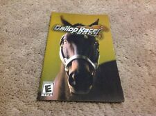 Gallop Racer 2004 Instruction Book Manual (no Game)
