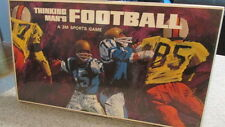 THINKING MAN'S FOOTBALL! - 3M Brand, Board Game 1969, Complete, Pre-Owned, Clean