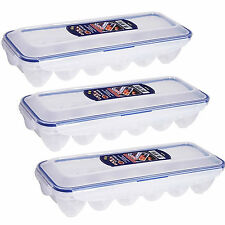 lock & lock 12 eggs box refrigerator Egg storage box food containers holder 3Pcs