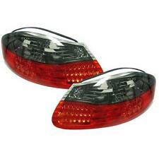 Coppia fari fanali posteriori TUNING PORSCHE BOXSTER 96-04 LED rosso nero