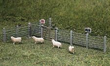 Ratio 419 Concrete Fence Posts & Gates '00' Plastic Kit