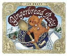 Gingerbread Baby by Jan Brett (2003, Board Book)