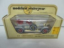 Matchbox models of yesteryear Y-10 1906 Rolls Royce Silver Ghost Red Interior