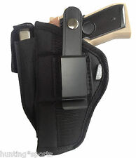 Gun holster w/ mag pouch fits Beretta 92 series use holster left or right hand