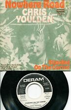 "CHRIS YOULDEN 7"" Nowhere Road (D,Deram,1973) Weißlabel Promo copy,ex SAVOY BROWN"