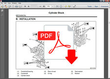 SUBARU FORESTER 2003 - 2008 SERVICE REPAIR WORKSHOP WIRING ELECTRICAL FSM MANUAL